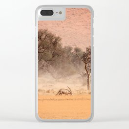 NAMIBIA ... through the storm II Clear iPhone Case