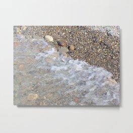 Rocks and Water Metal Print