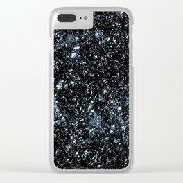 Specular Hematite Clear iPhone Case