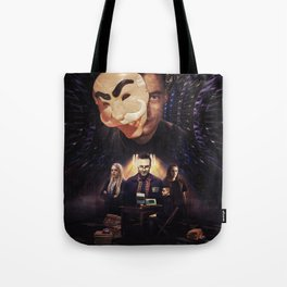 Mr. Robot - Control is An Illusion Tote Bag