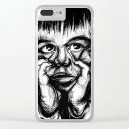 CHRISTIAN Clear iPhone Case