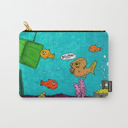 Admiral Ackbar It's a Trap art by RonkyTonk Carry-All Pouch