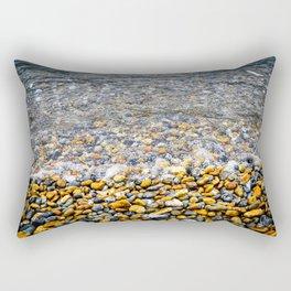 At the water's edge Rectangular Pillow