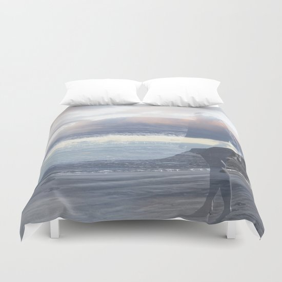 Into the Wave Duvet Cover