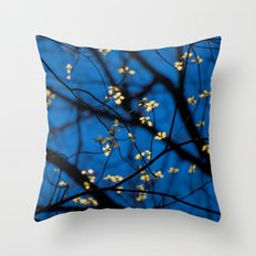 Leaves Of Spring Throw Pillow