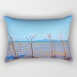Skeletal mangrove trees Rectangular Pillow