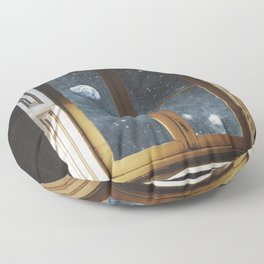 WINDOW TO THE UNIVERSE Floor Pillow