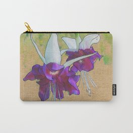 Trailing Fuschia Carry-All Pouch