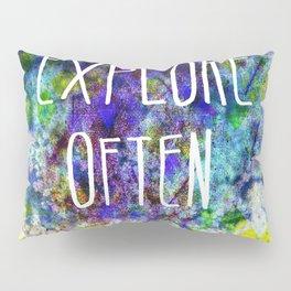 Explore Often Pillow Sham