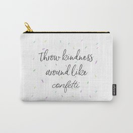 Kindness Confetti Carry-All Pouch