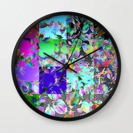 Foliage Patchwork #12 Wall Clock