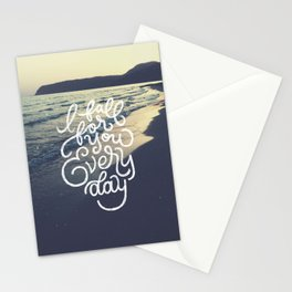 I fall for you everyday Stationery Cards