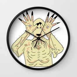The Pale Man Wall Clock