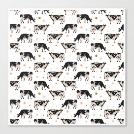Cow Pattern | Cow Spots Farm Farmer Animal Milk Canvas Print