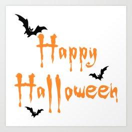 Halloween Scalable Art Print