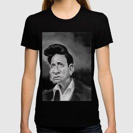 The Man in Black T-shirt