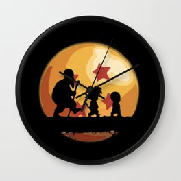 Finding Dragonball Wall Clock