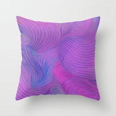 Colored Wind - Colored Pencil Throw Pillow