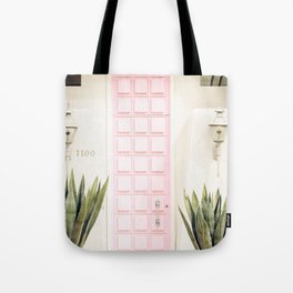 Pink Door Palm Springs,California Tote Bag
