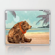 Beach Bear Laptop & iPad Skin