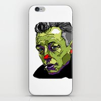 camus iPhone & iPod Skins featuring A. Camus by philip painter