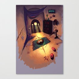 The Magician's Room Canvas Print
