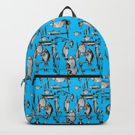 SHOLLY FISH IN BLUE Backpack
