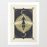 Black Honey Art Print