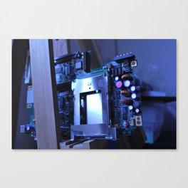 Resting Computer Canvas Print