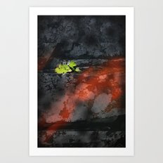 The Fire That Brings New Life Art Print