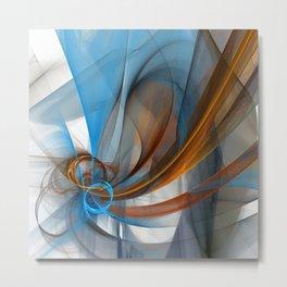 fractal design -45- Metal Print