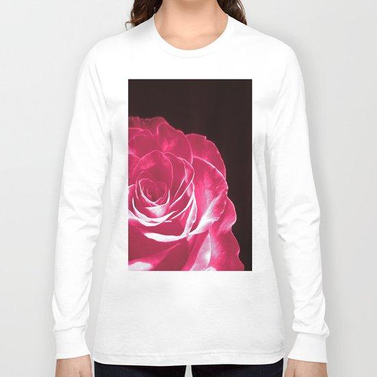 Colours Rose Long Sleeve T-shirt