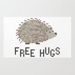 free hugs 1 Rug