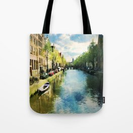 Amsterdam Waterways Tote Bag