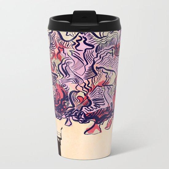 Smokestack - Colour Metal Travel Mug