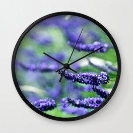 Lovely Lavender Wall Clock
