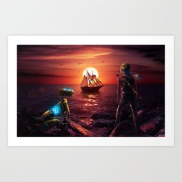 Sea of Recore Art Print