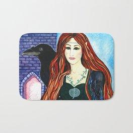 Faerie Crow Bath Mat