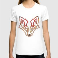 celtic T-shirts featuring Celtic fox - celtic knot by Ioreth