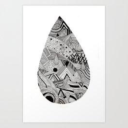 Territorio Art Print