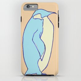 penguin iPhone Case
