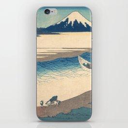 Tama River in Musashi Province - Katsushika Hokusai iPhone Skin