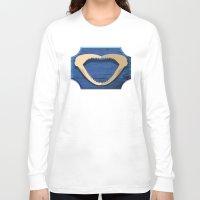 shark Long Sleeve T-shirts featuring Shark! by DWatson