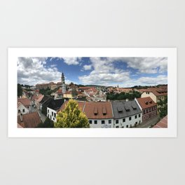 Cesky Krumlov, Czech Republic Art Print