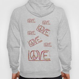 Peace/Love ART Hoody