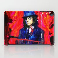 dale cooper iPad Cases featuring Alice Cooper by manish mansinh