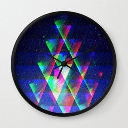 rgb dust Wall Clock