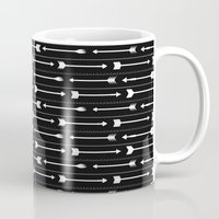 arrows Mugs featuring Arrows by Hipster