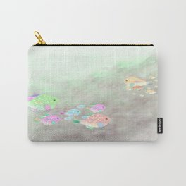 Families of Fish Carry-All Pouch