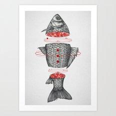 Sashimi III Art Print